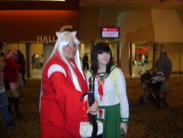 InuYasha and Kagome by uchihalavi