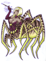 Monster Girl Challenge- Spider Girl by infamy-inspired