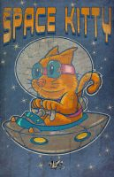 SPACE KITTY colors by CaziTena