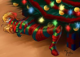 Wrapped gift by Yashasun
