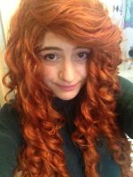 Merida wig by Iris-Iridescence