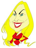 Vector of a caricature by chaoscool