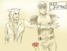 Deadpool wouldn't be a good Doctor... by Loliigo