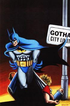 BATMAN GOTHAM CITY LIMITS by WillPhantom