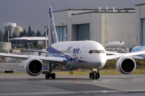 ANA Boeing 787 Taxi 2 by shelbs2