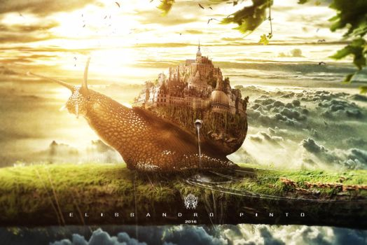 The Kingdom of Snail by 35-Elissandro