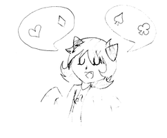 nepeta sketch by crowwfeathers
