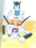 Prowl got glomped by Trickster91