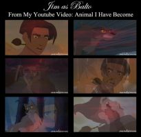Animal I Have Become - Jim/Balto by OohFire