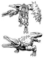 Beast Wars Terragator by Soulman-Inc