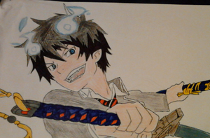 Blue Exorcist by Yulie96