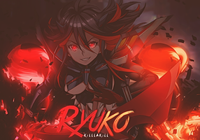 Kill La Kill - Ryuko by YugataKisu