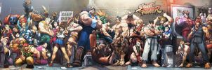 Street Fighter by DBigBoss
