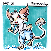 30characters - day 21 - farmer cax by not-fun