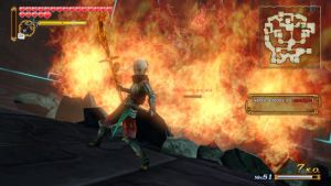 Impa attack with her Guardian Naginata by NekoBlue63