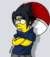 Sasuke Simpson by insontas