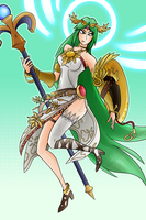 Newcomer - Palutena by AndrewMartinD