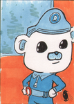Octonauts- Captain Barnacles sketch card by invaderjes
