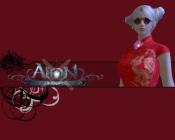 Aion robe chinoise by AlucardxXx