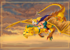 Contest .:Angel and Eragon:. by Amand4