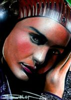 Padme Sketch Card 2 by RandySiplon