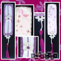 Flower Bookmark Edging 1 by A--Anthony