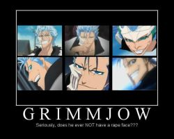 The Many Rape Faces of Grimmjow by zest1513