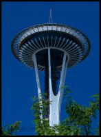 Space Needle Upper Half by urnightmare