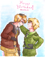 APH - Happy Birthday! by Rainbowspark88