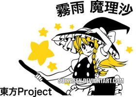 Marisa Kirisame Vinyl Decal by Suikasen