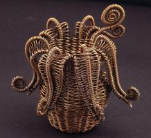 Twined Flower Basket by WiredElements