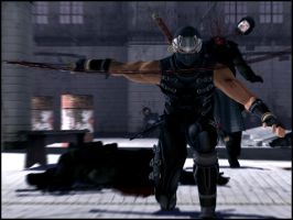 Ryu Hayabusa: More Ownage by Madilloman