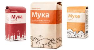 Ryazanochka baking flour bag by SkipDesign