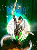 Warrior Angel by mydas5