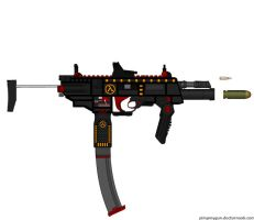Gordan Freeman's Custom MP-7 Tac. SMG Model 2.0 by Lord-DracoDraconis