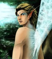 Male Faerie by djmidori