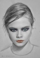 Cara Delevingne by MohammadMirzaee