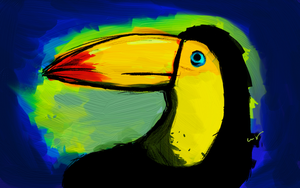 Toucan by nicollearl