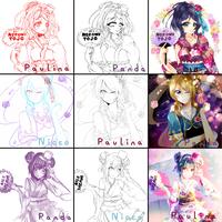 LoveLive Third Year's Switcharound by Lapia