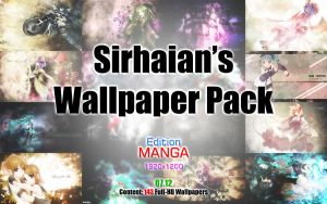 Sirhaian's Wallpaper Pack - 07.12 (Manga Edition) by Sirhaian