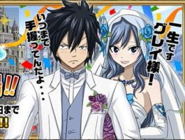 Official art Wedding Gruvia by SweetLotos