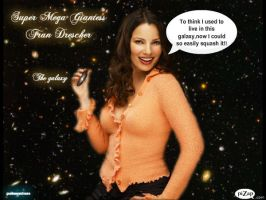 GIANTESS FRAN DRESCHER FROM GIANTESSANDMORE PIC 1 by darthbriboy