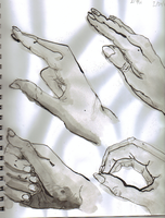 Hands Study 3 by waterfish5678901