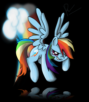 Rainbow Dash Wallpaper by Phendyl