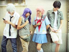 The future is decided (Mirai Nikki) by Doriri-chan