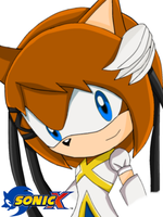 SONIC X-ELISE THE HEDGEHOG by EliseTheHedgehog26