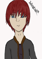 First drawing with my tablet. by FantasyAngel09
