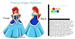 Princess Ginger Reference by kcjedi89