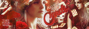 Card game with Emma Watson by screamcat