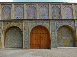 Persian Architecture 09 - Wall and Gates by fuguestock